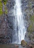 Vattenfall polynesia tahiti royaltyfri fotografi
