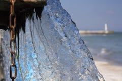 Vattenfall Pressande vatten royaltyfri bild