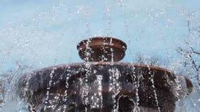 Vattenfall Pressande vatten stock video
