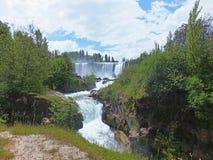 Vattenfall Salto del Laja Arkivfoton
