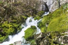 Vattenfall Skaklia, Bov by, Iskarsko klyfta Royaltyfria Foton