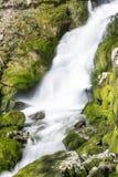 Vattenfall Skaklia, Bov by, Iskarsko klyfta Royaltyfri Bild