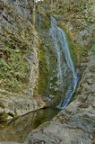Vattenfall Skoka (hoppet) Arkivfoto