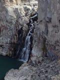 Vattenfall som igenom sipprar Royaltyfria Foton