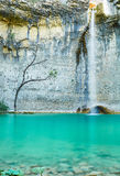 Vattenfall Sopot, Istria, Kroatien Arkivbilder