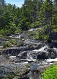Vattenfall Torbay NL för rörelseflodkaskad Arkivfoto