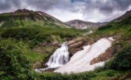Vattenfall Vachkazhets arkivfoton