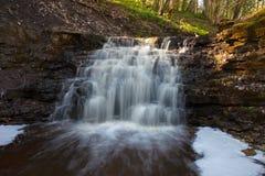 Vattenfall Virsaishi, Lettland Royaltyfria Bilder
