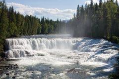 vattenfall wide Royaltyfria Bilder