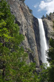 vattenfall yosemite Royaltyfri Fotografi