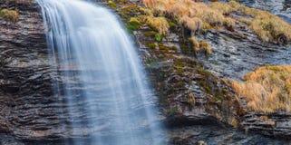 Vattenfallabstrakt begrepp Arkivbilder