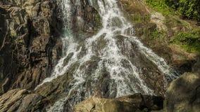 Vattenfallbakgrundsögla lager videofilmer
