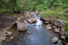 Vattenfallbakgrundslandskap Arkivbild
