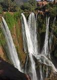 Vattenfallet är en naturlig monument som skyddas av UNESCO Royaltyfri Foto