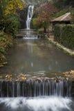 Vattenfallet av Balchik'sens slott Royaltyfria Bilder