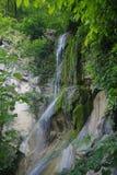 Vattenfallet av floden Ashe arkivbilder