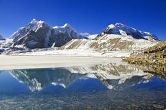 Vattenfallet för 7 syster på Sikkim Arkivbild