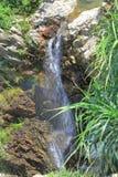 Vattenfallet som rusar ner, vaggar Fotografering för Bildbyråer