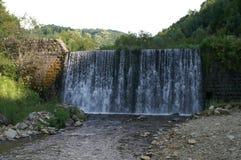 Vattenfallflodvlasina Fotografering för Bildbyråer