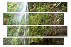 Vattenfallkonst royaltyfria bilder