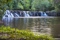 Vattenfalllandskap Arkivfoton