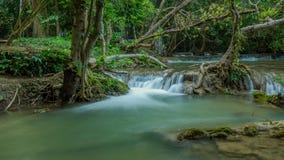 Vattenfallnationalpark Thailand royaltyfria bilder