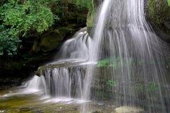 Vattenfallnaturen landskap Fotografering för Bildbyråer