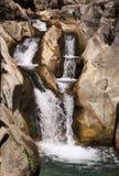 Vattenfallnivåer royaltyfri bild