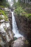 VattenfallObrovsky vodopad i höga Tatras, Slovakien Royaltyfri Foto