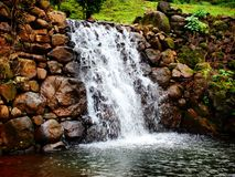 Vattenfallvatten Igatpuri royaltyfri fotografi