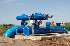 Vattenfiltrering Arkivbild