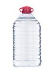 Vattenflaska som isoleras på viten Royaltyfria Foton