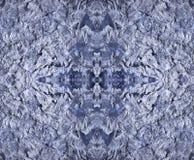 Vattenfärg och salt abstraktion Royaltyfri Fotografi