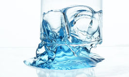 Vattenfärgstänk Arkivbild