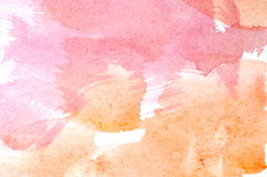 Vattenfärgwashbakgrund Royaltyfria Foton