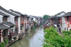Vattengränd på suzhou Arkivfoton
