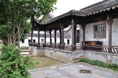 Vattengränd på suzhou Royaltyfri Fotografi
