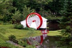 vattenhjul Arkivbilder