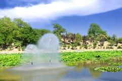 Vattenhjul Royaltyfri Bild