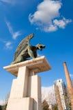 Vattenkastare för Valencia Pont del Regne reino broförmyndare Arkivbilder