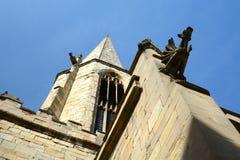 Vattenkastare på kyrka i York Royaltyfria Foton