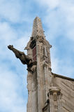 Vattenkastarna av Notre Dame Cathedral, Paris Royaltyfri Bild