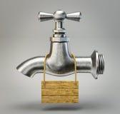 Vattenklapp royaltyfri illustrationer