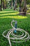 Vattenklappet med det rubber röret parkerar på Royaltyfria Foton