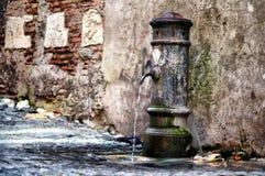 Vattenkolonn Arkivbild