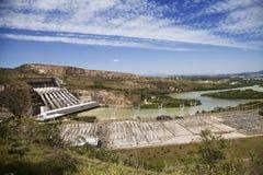 vattenkraftstation fotografering för bildbyråer