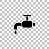 Vattenkransymbolsl?genhet stock illustrationer