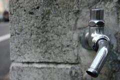 vattenkranutan ledning Royaltyfri Foto