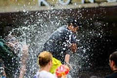 Vattenkrig Arkivfoto