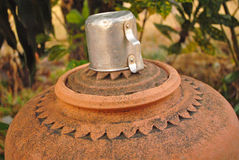 Vattenkrus för dricksvatten Arkivfoton